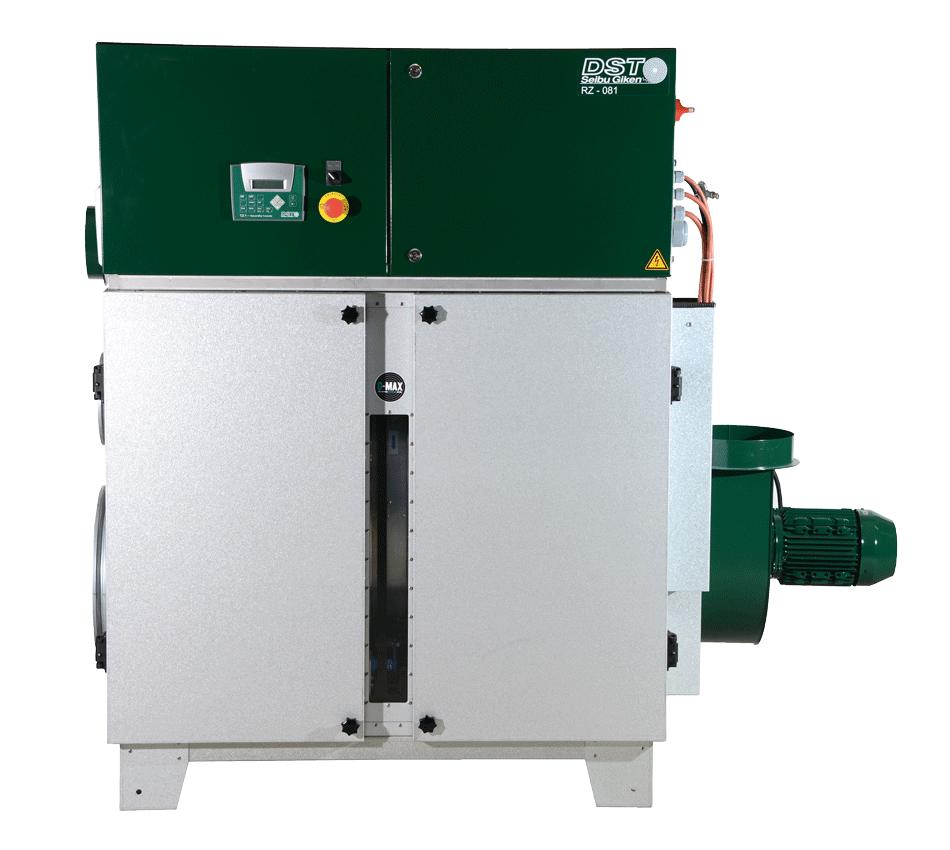 Inredning sorptionsavfuktare : Avfuktare Recusorb RZ-serien Std/ICE för fuktkontroll ...