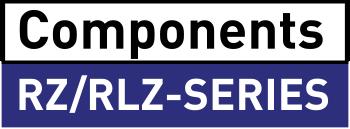 Komponenter till Rz- och RLZ-serien